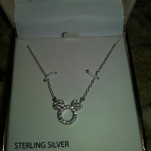 Disney sterling silver necklace